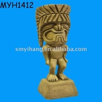 Resin wholesale figurine tiki god statue
