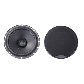 "6.5"" 2-way quality car coaxial speaker with silk dome tweeter"