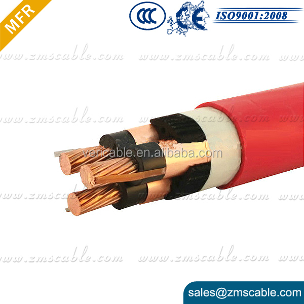 AL/XLPE Low Voltage Aerial Bundle Cable 0.6 1 kV triplex wire