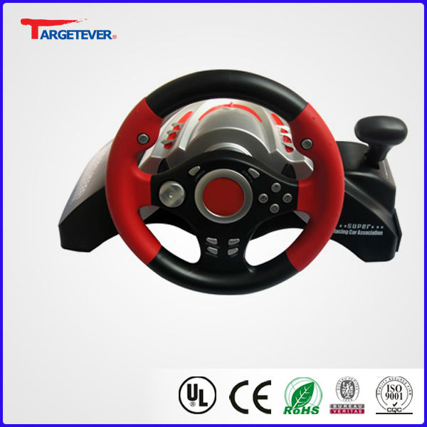 Valuable funky video games steering wheel for ps2