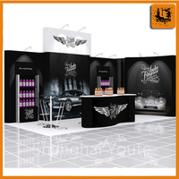 portable pop up display stand, trade show kids model car display