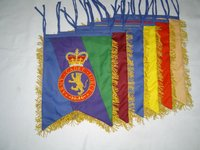 Geoffrey | Royal Army Cadet Force Hand Embroidered GHB Great Highland Bagpipe Banner