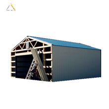 Steel Structure Frame Prefabricated Building For Construction