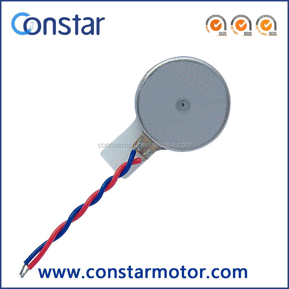 10~12mm Flat Micro Vibrator Motor Used In Mobile Phone And More