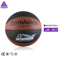 High quality wholesale double color winner size 7 embossing EVA basketball ball