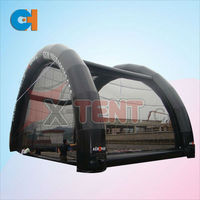 2014 The high quality and giant black inflatable lawn tent,Outdoor advertising tent for you CH-IT601