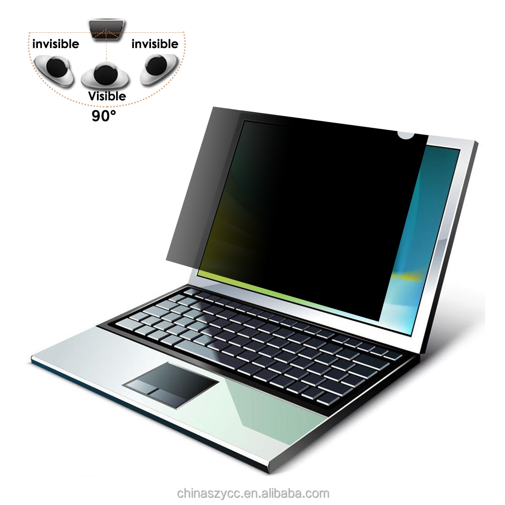 Screen Protective Film Removable Laptop Privacy Screen Filter, 17 inch Laptop Screen Protector