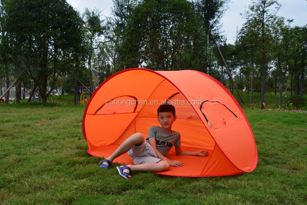 New style 1-2 person folding with widow beach tent