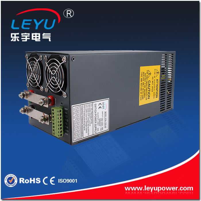 China <strong>manufacturer</strong> SMPS SCN-1200-12 12V 1200W ac to dc single output switching power supply parallel function