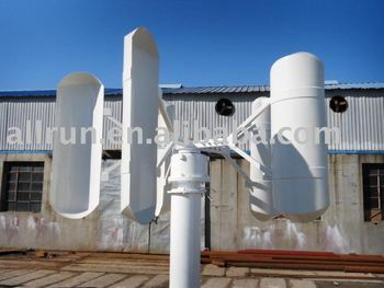 New vertical style low star wind power generator