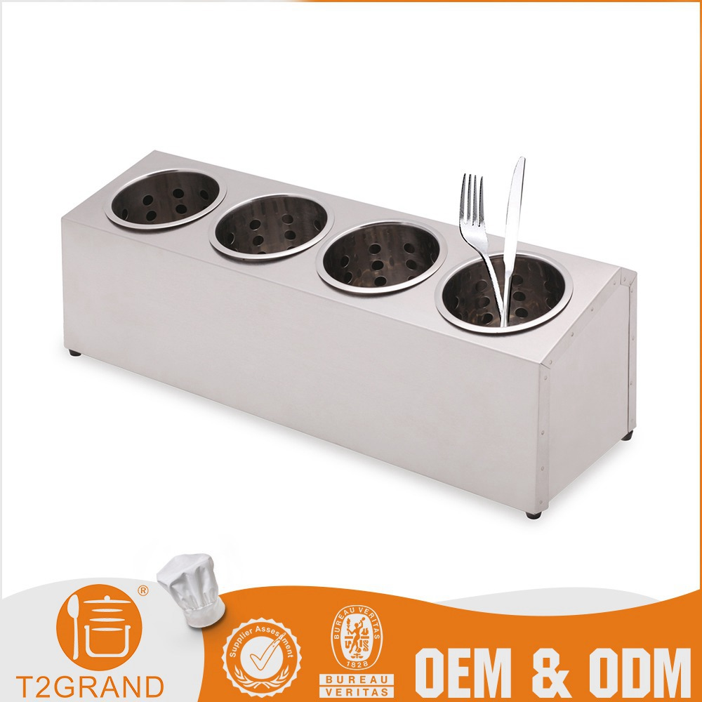 Stainless Steel Oem Single-Row Flatware Storage Boxes