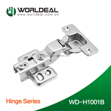 Cheap price 35mm cup kitchen cabinet door hinge soft closing Nickel finished