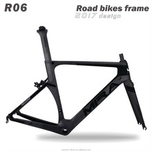 2017 Aero road bikes latest new carbon fiber frame road