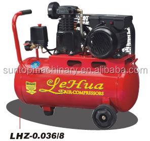Zhejiang 200L 8bar 5.5HP bensin/diesel air compressor 8CFM