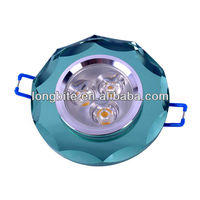 Goods from China Crystal 3*1W LED Downlights with cut edge