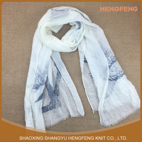 Wholesale Custom High Quality Handmade polyester scarf