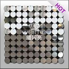 Innovative Glary shiny black pvc sheet
