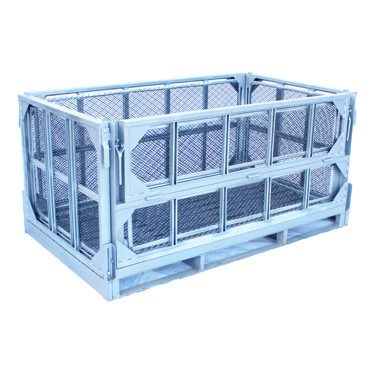 Wholesale Cheap Iron Metal Big Zoo Animal Transport Cage Large Goat Cat Dog Cage With Lock
