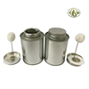 Metal Tin Can With Screw Lid