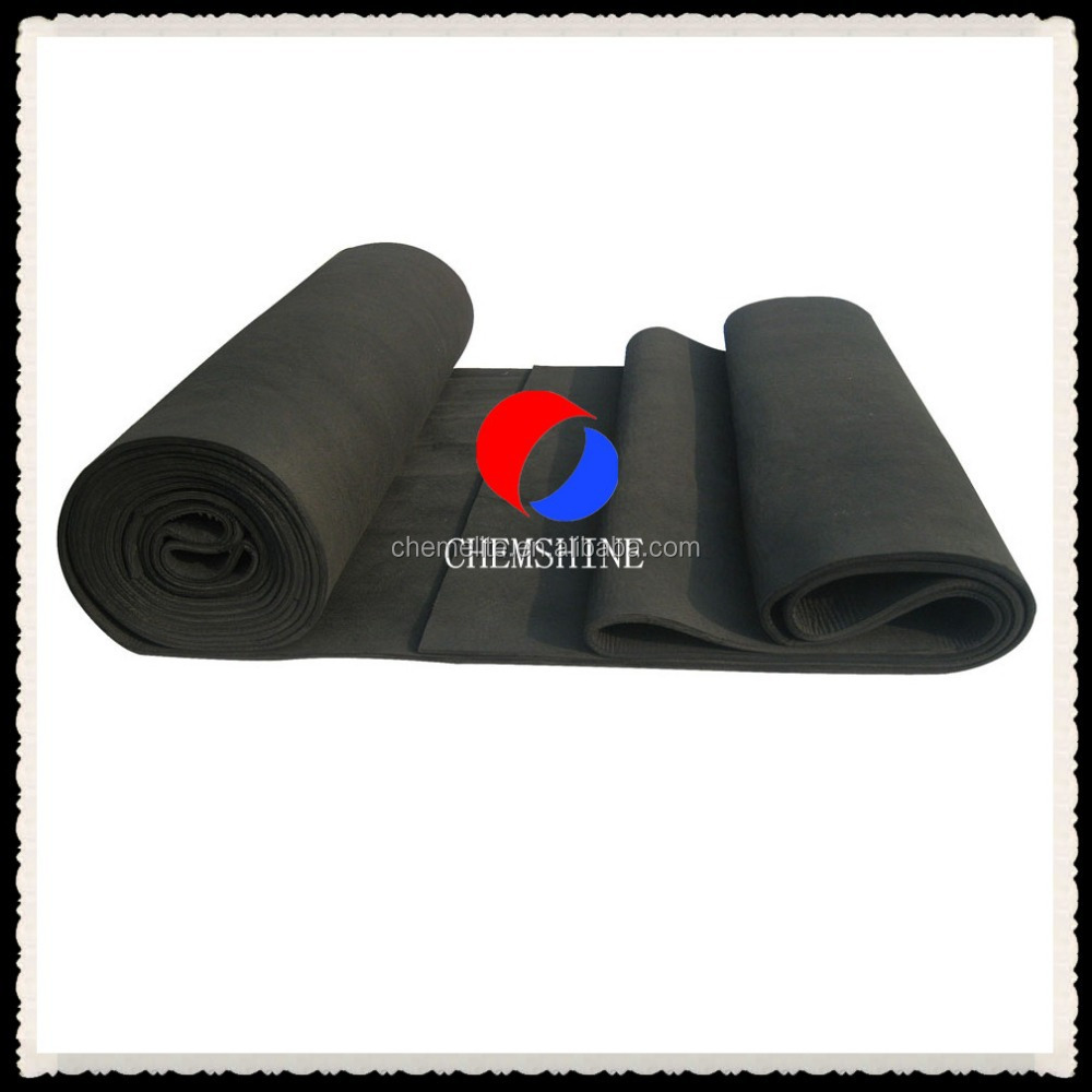 10MM Thick Soft Graphite Industrial Felt