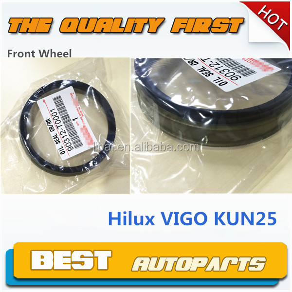 hot sale front wheel hub oil seal for TOYOTA Hilux Vigo 90312-T0001
