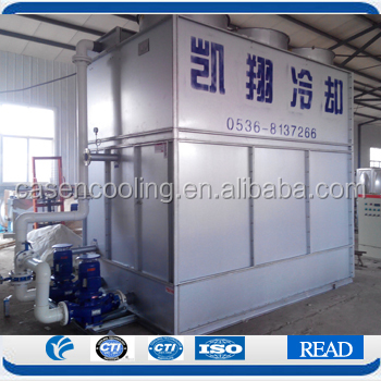 Closed Type Water Cooling Tower Price Closed Loop Water Cooler Evaporative Condenser Poultry House Cooling System Manufacturer
