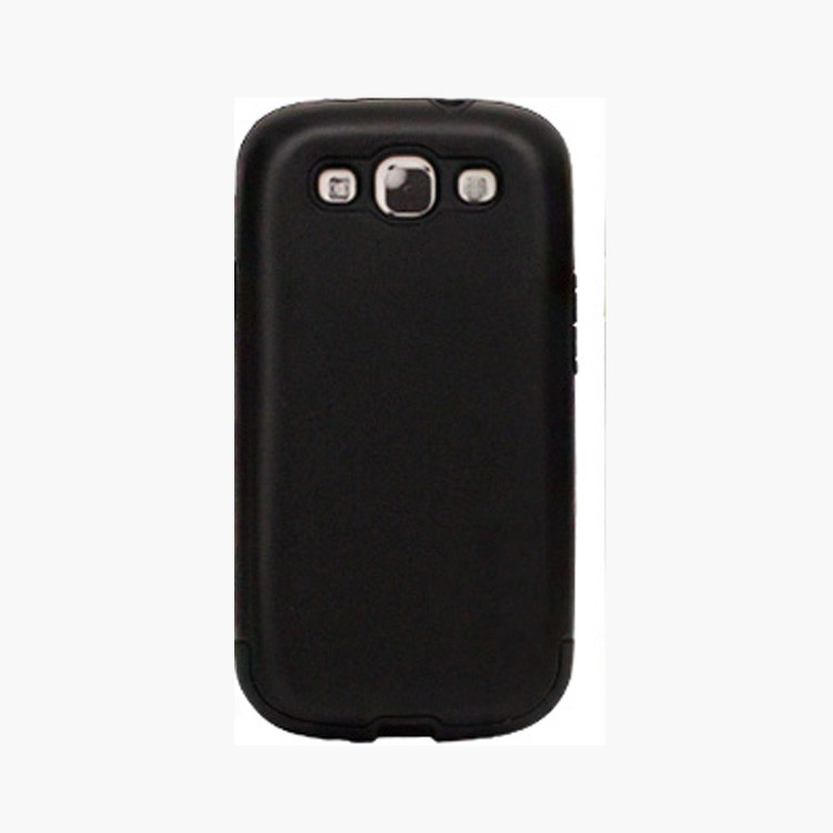 Wholesale low price mobile phone anti-shock case for samsung galaxy s3 tpu and pc double case