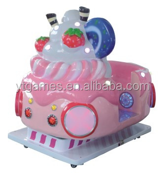 coin operated ice cream car kiddie rides game machine for sale
