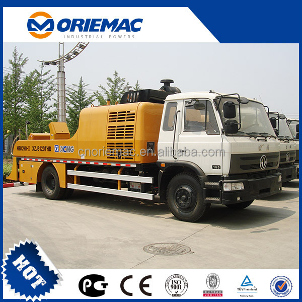 TOP BRAND LIUGONG Trailer Concrete Pump HBT85-15-156S WITH CHEAP PRICE FOR HOT SELL