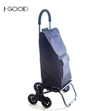 Customized Stair Climbing Multipurpose Folding Shopping Trolley Cart