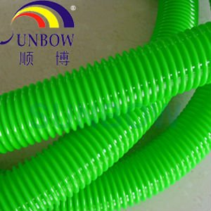 Electrical corrugated PVC cable insulation tube