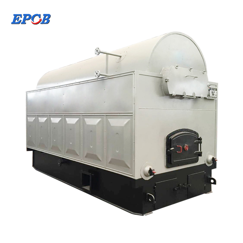 0.5 1 2 4 ton DZG fixed grate coal fired steam boiler for sale