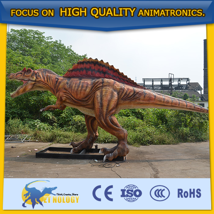 CET-N-96 Animatronic Animal Inflatable Animated Real Dinosaur in China for Amusement Park by Cetnology