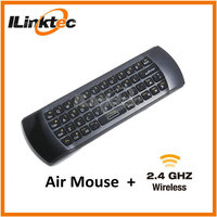 Latest!! Mini wireless keyboard with trackball mouse, For TV remote from manufacturer