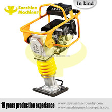 Gasoline honda power earth sand soil wacker impact jumping jack multiply compactor tamper vibrating by sunshine machinery