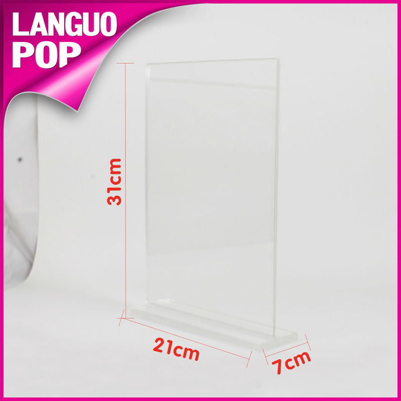 Acrylic File Holder/File Folder/File Stand