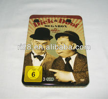DVD CD tin case