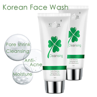 Best Aloe Vera Charcoal Face Wash Cleaning Gel Facial Pore Cleaner
