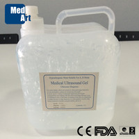 CE ISO Approved Medical Ultrasound Gel 5L Containers Ultrasound Conductive Gel Medical Gel Packs