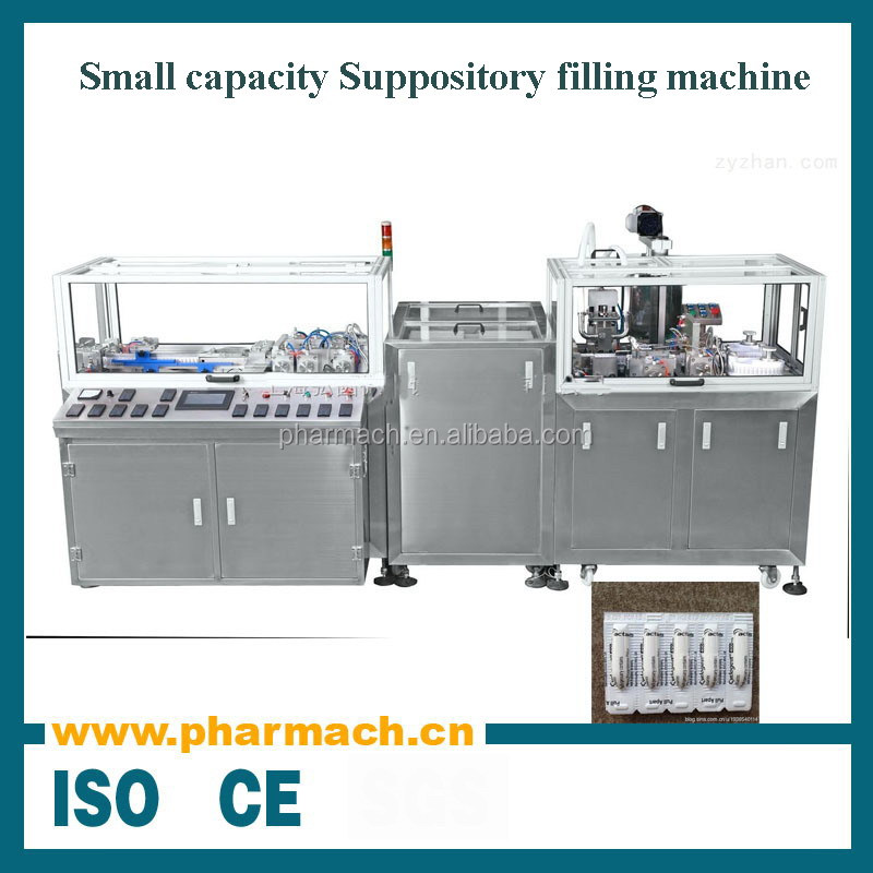 Small capacity automatic suppository filling machine