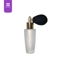 Shimmer cosmetic face powder small spray bottle packaging