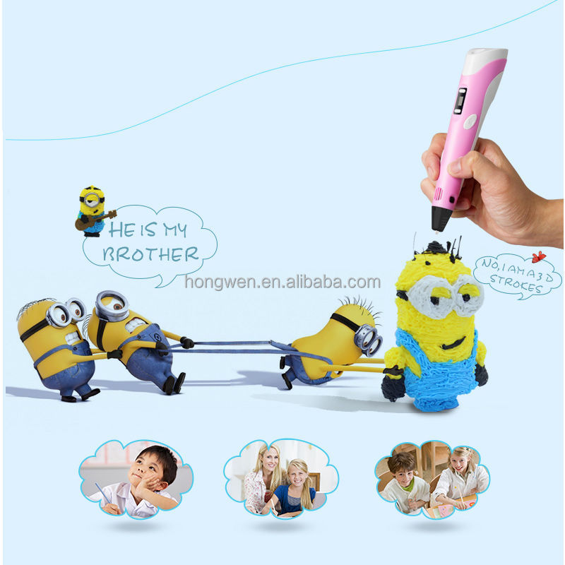 2017 Hot Selling Kids Best Christmas Gift Capsule Toy 3D Pen