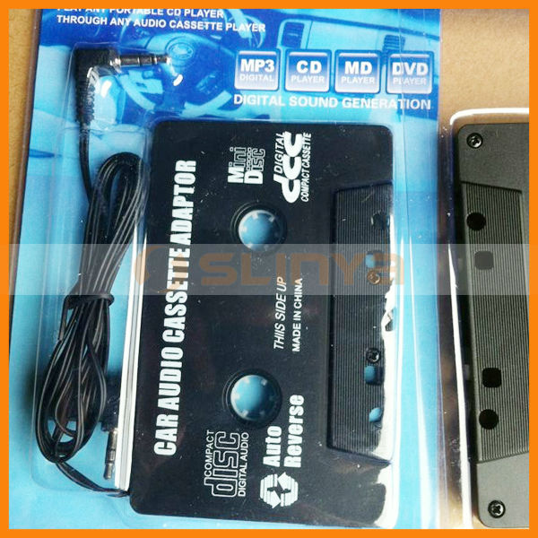 Auto Audio Converter AUX Player Cassette Connector