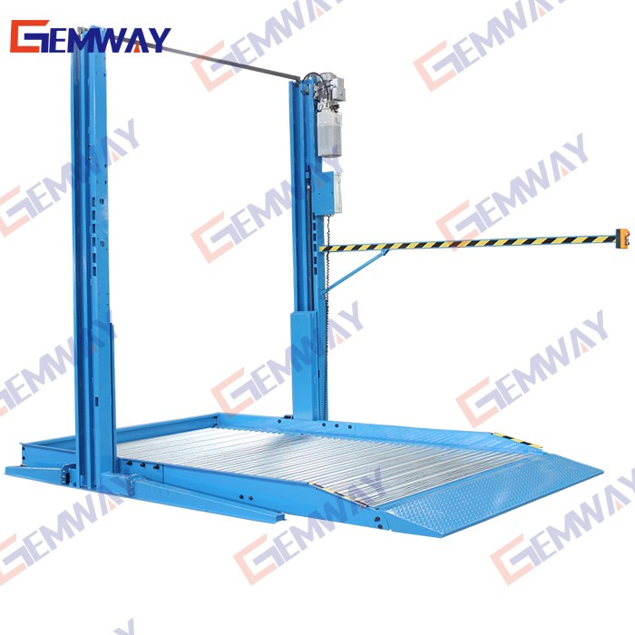 2300kg hydraulic electric auto 2 post car parking lift
