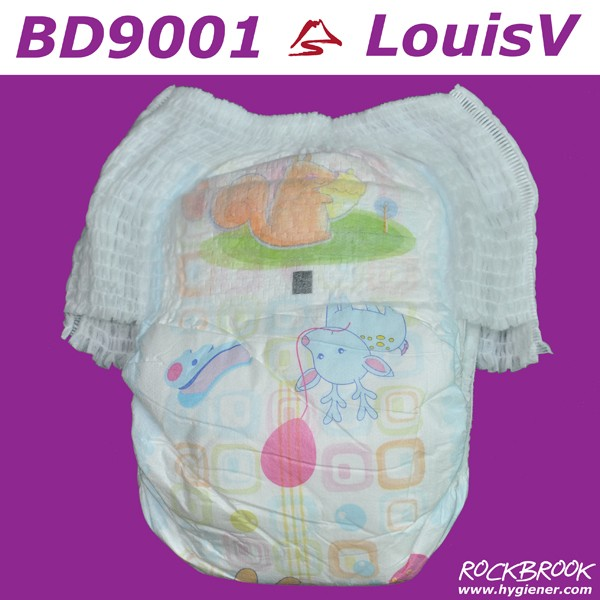 Good Absorbtion Free Samples Competitive Price Panty Diaper Adult Panty Diaper Manufacturer with BD9001 from China