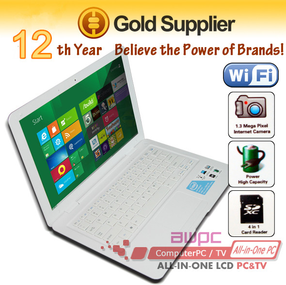 shenzhen cheapest 13inch mini <strong>laptop</strong> intel D2550 windows7 notebook computer