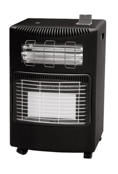Portable electric and gas 2 in 1 gas heater