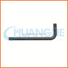 High quality torx key wrench set square allen wrench