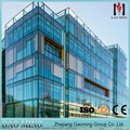 Alibaba trade assurance Golden Supplier for high quality china Hidden frame glass wall GM-C820