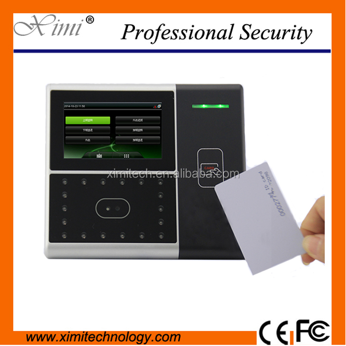 Iface301 Face and card time attendance and access control with high speed Multi-Bio processor and high definition infrared came